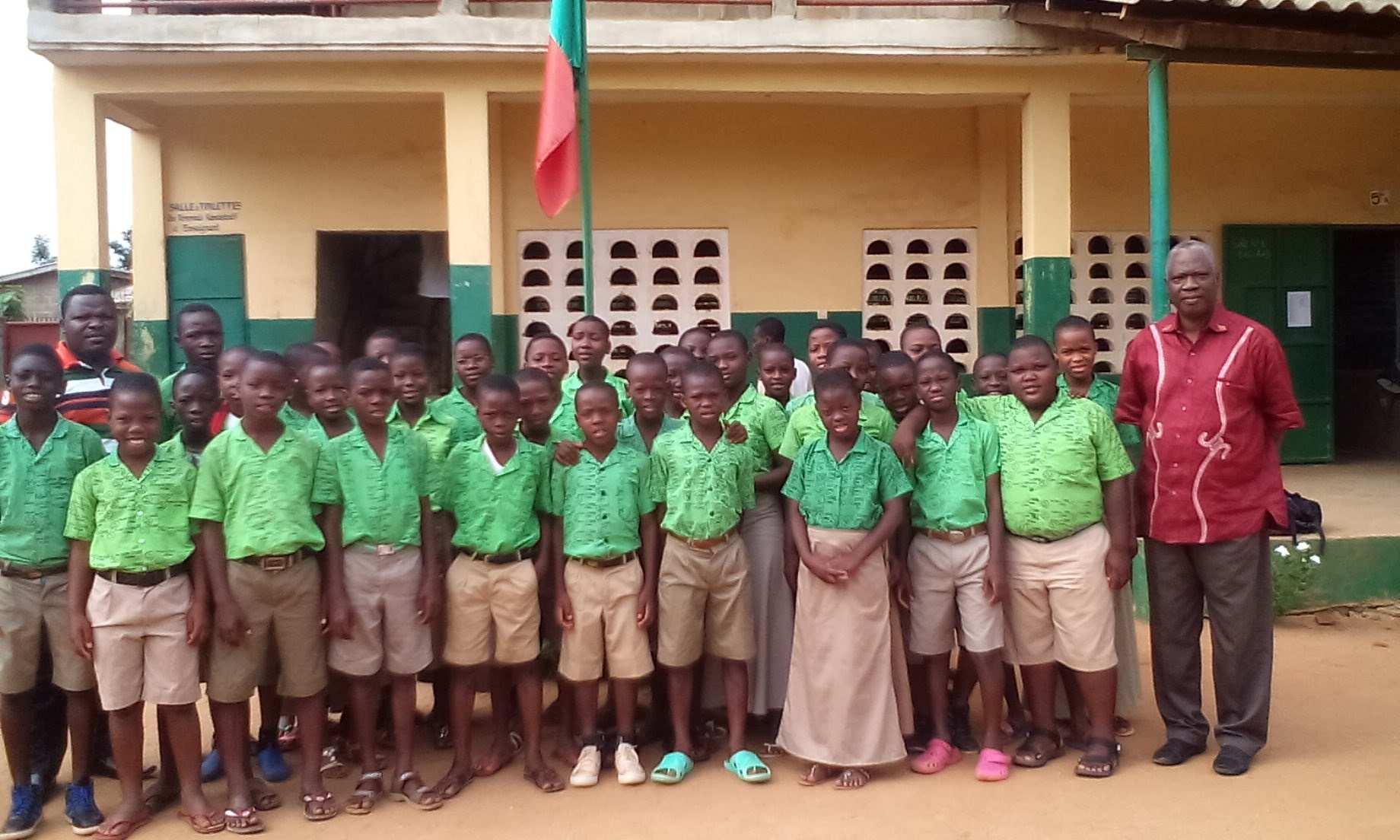 Le son d'Enfants: les élèves du Collège de l'Espoir