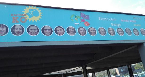 Fresque de l'école de Blocry